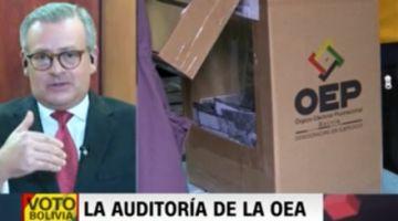 Manuel González revela que 4 actas anuladas se validaron en el informe oficial del TSE