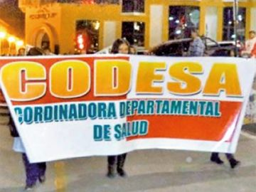 Codesa sigue movilizado por sus varias demandas