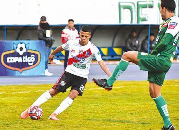 El volante Miguel Padilla fue convocado a la selección boliviana Sub-23