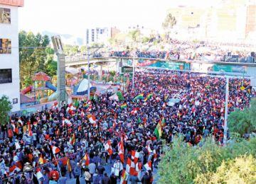 Potosí pide la renuncia de Evo y la nulidad de las elecciones 2019