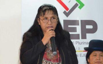 Revelan el rol de la vocal designada por Evo en la interrupción del TREP