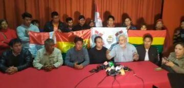 Cívicos presentan la dirección nacional de los conflictos