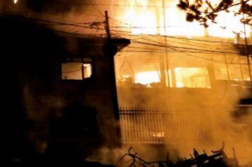 Fiscalía emite citaciones para esclarecer quema y destrozos