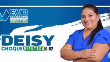 Investigan a diputada electa del MAS por muertes en Montero