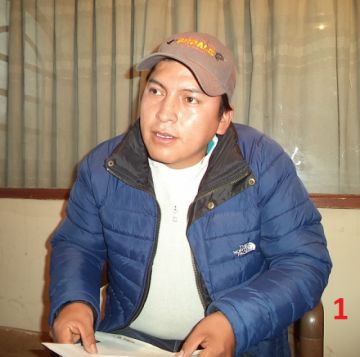 Candidato del MAS desmiente representación de Fedecomin