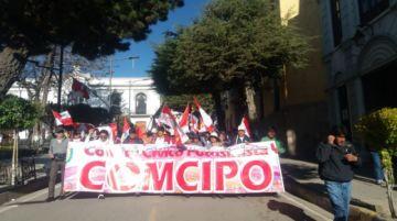 Comcipo define viaje de organizaciones a La Paz