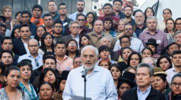 Mesa pide convocar a nuevas elecciones