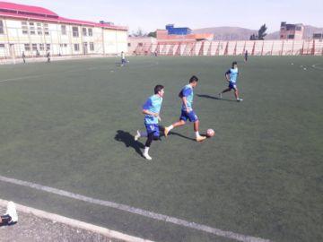 Real Potosí entrenó en Las Delicias