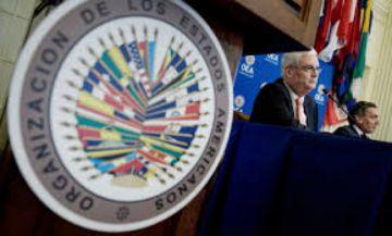 Canciller boliviano brinda informe en la OEA sobre la situación en el país