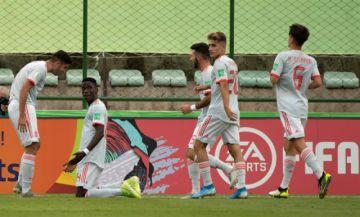 La selección española sub-17 supera a Camerún 0-2
