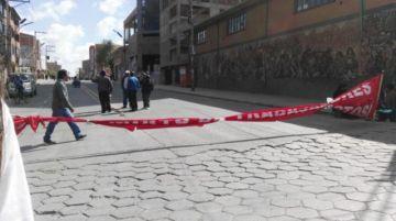 Tránsito reporta trancas bloqueadas en Potosí