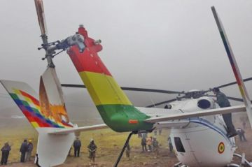 Investigarán el incidente del helicóptero presidencial