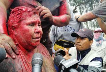 Liberan a alcaldesa de Vinto, que fue retenida en conflictos en Cochabamba
