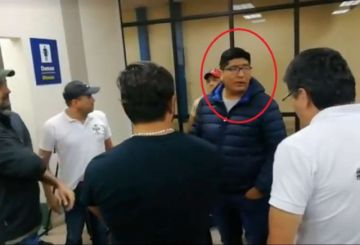 Camacho no entrega carta a Evo pero dice que volverá a La Paz