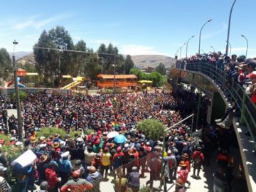 Cooperativistas mineros vuelven a marchar por las calles potosinas