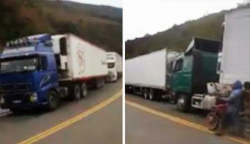 Empresa Sofía denuncia retención violenta de camiones y amenazas