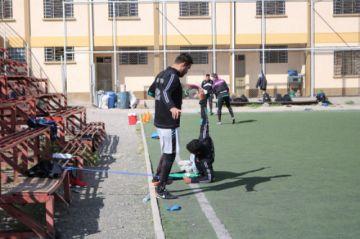 El delantero Vogliotti y el lateral García cumplen un trabajo diferenciado