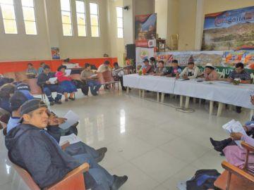 Asambleístas aprueban varios informes en sesión en Cotagaita