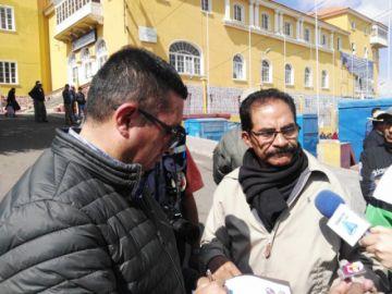Los docentes de la UATF se suman a la marcha que irá a La Paz