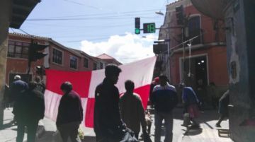 Los bloqueos continúan en las calles potosinas