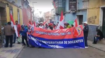 UATF se suma a la marcha a La Paz junto a Comcipo