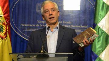 García Linera: renuncia de Morales sería como enterrar la democracia