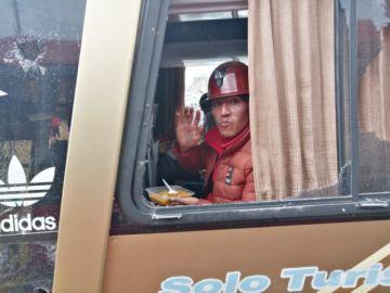 URGENTE: Caravana atacada llega a Oruro