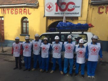 Cruz Roja apoyará caravana que partió ayer hacia La Paz