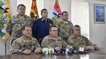 FF.AA. dice que no se enfrentarán al pueblo y exigen soluciones