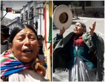 Marchas claman por la pacificación de Bolivia
