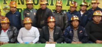 Fencomin y Fedecomin piden la renuncia de Evo Morales