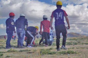 Un ataque a caravana de potosinos dejó 5 heridos