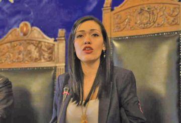 Adriana Salvatierra dimitió a la Cámara de Senadores