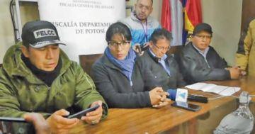 Fiscalía aprehende a un vocal y buscan a los demás en Potosí