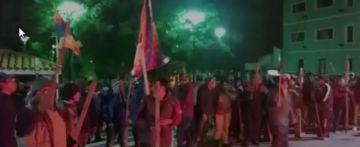 Comunarios de la provincia Cornelio Saavedra bloquean en defensa de su voto