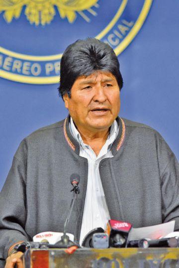 Evo vuelve al trópico  de Cochabamba