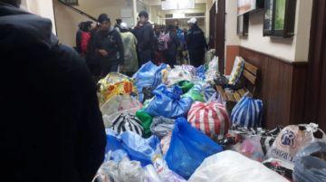 Oruro brinda su apoyo a la caravana potosina