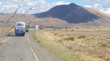 La caravana vuelve hacia Potosí