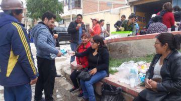 Destacan solidaridad en la caravana potosina