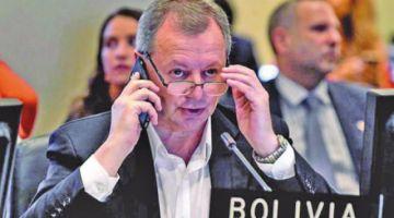 Renuncia el embajador de Bolivia ante la OEA en medio de crisis en el país
