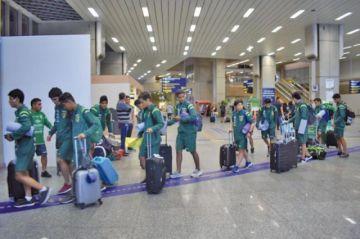 La Verdecita anticipará su viaje a Asunción