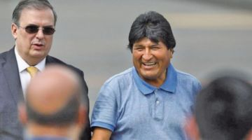 """Morales: con la posesión """"se consumó el golpe más artero y nefasto"""""""