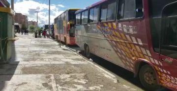 Caravana potosina retorna a la ciudad