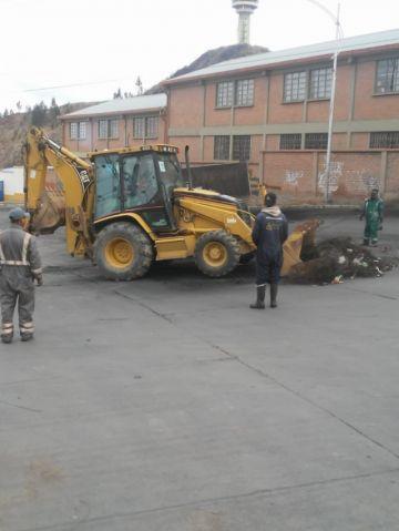 Emap normaliza trabajo de recojo de basura