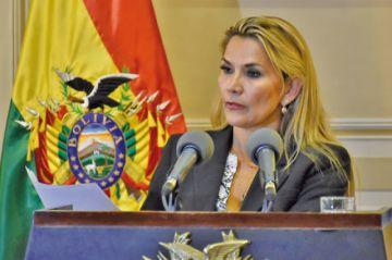 Áñez anuncia que anulará el fallo que avaló la repostulación de Evo