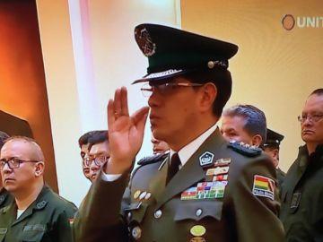 Nuevo comandante general de la Policía Boliviana es potosino