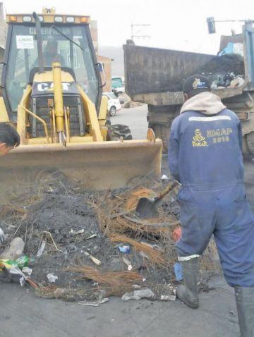 Emap normalizó sus trabajos de recojo de residuos sólidos en la ciudad
