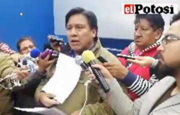 Se informa sobre la situación de la Alcaldía de Potosí