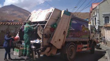 Emap normaliza el servicio de recojo de basura