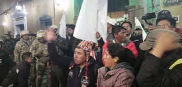 Caminata pacífica de campesinos se desconcentra